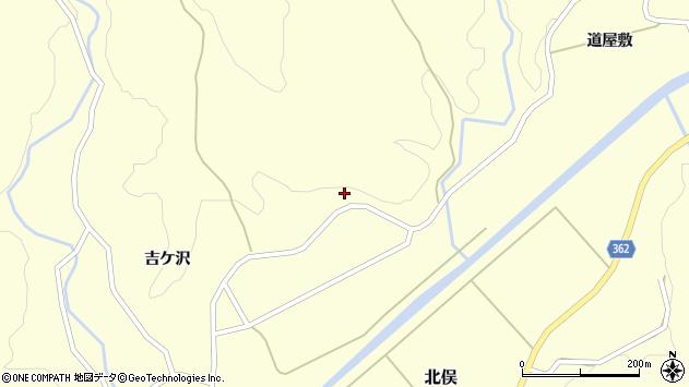 山形県酒田市北俣吉ケ沢100周辺の地図