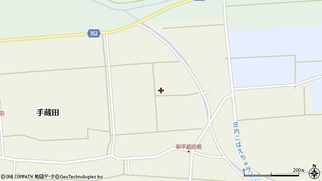 山形県酒田市手蔵田仁田79周辺の地図
