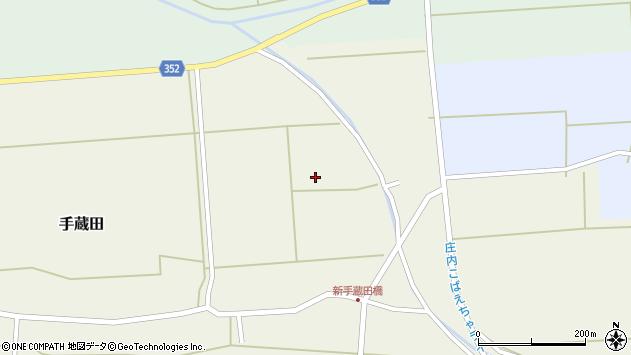 山形県酒田市手蔵田仁田32周辺の地図