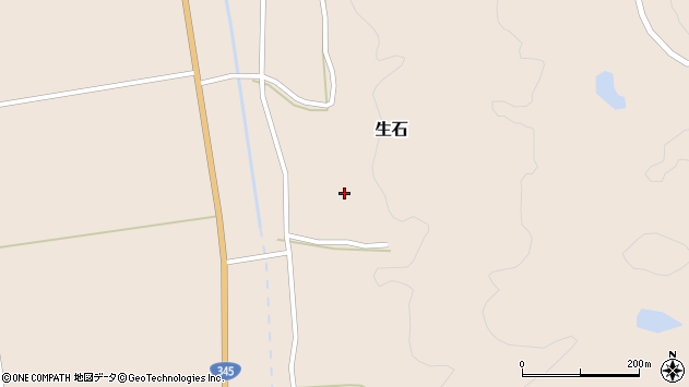 山形県酒田市生石十二ノ木48周辺の地図
