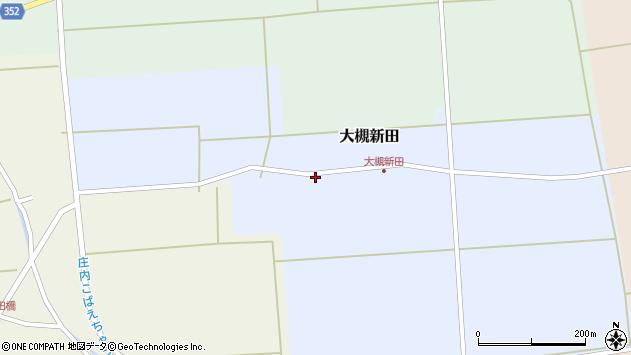 山形県酒田市大槻新田槻の下周辺の地図