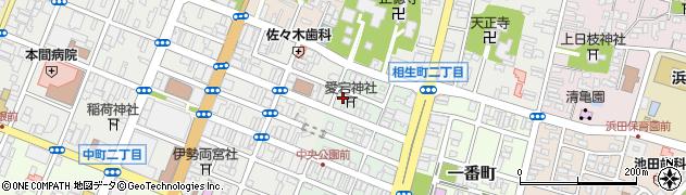 山形県酒田市二番町3周辺の地図