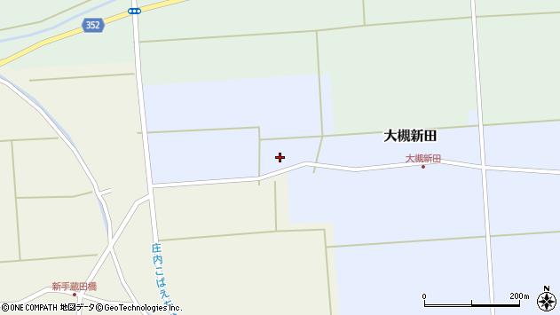 山形県酒田市大槻新田神田15周辺の地図