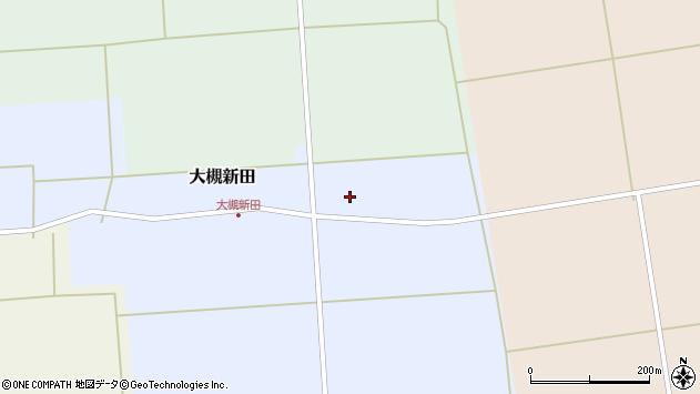 山形県酒田市大槻新田太田28周辺の地図