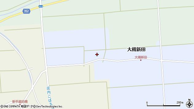 山形県酒田市大槻新田神田周辺の地図
