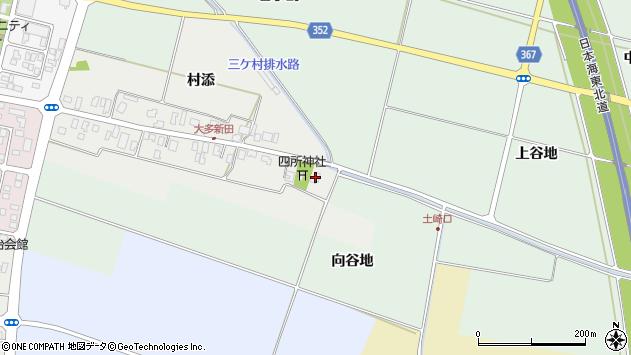 山形県酒田市大多新田4周辺の地図