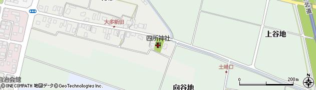 山形県酒田市大多新田村添44周辺の地図