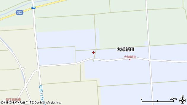 山形県酒田市大槻新田神田3周辺の地図