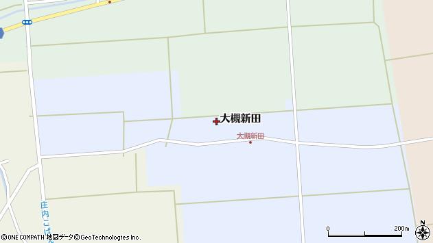 山形県酒田市大槻新田太田周辺の地図