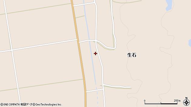 山形県酒田市生石十二ノ木251周辺の地図