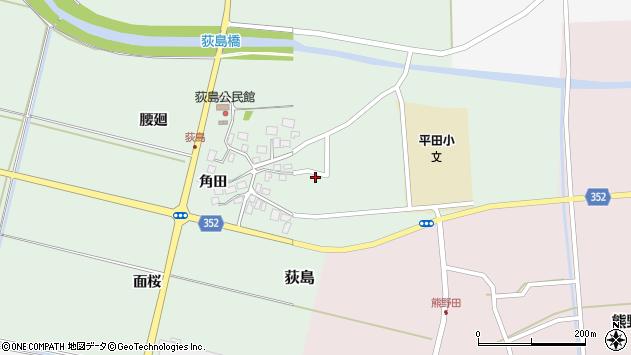 山形県酒田市荻島面桜30周辺の地図