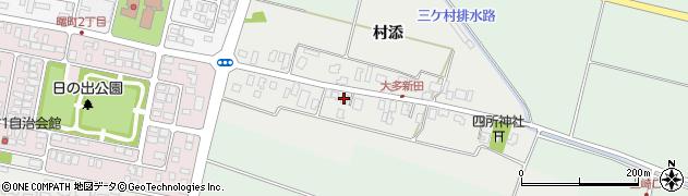 山形県酒田市大多新田33周辺の地図