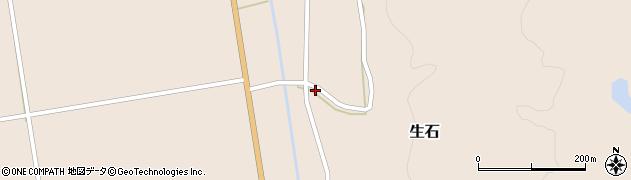 山形県酒田市生石十二ノ木95周辺の地図