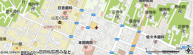 山形県酒田市中町3丁目周辺の地図
