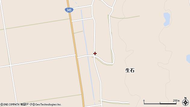 山形県酒田市生石十二ノ木120周辺の地図