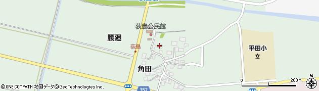 山形県酒田市荻島腰廻31周辺の地図
