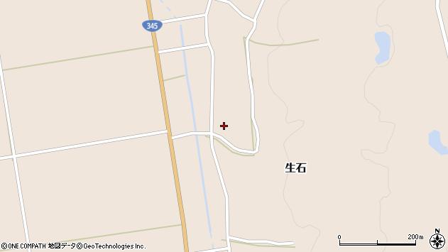 山形県酒田市生石十二ノ木119周辺の地図