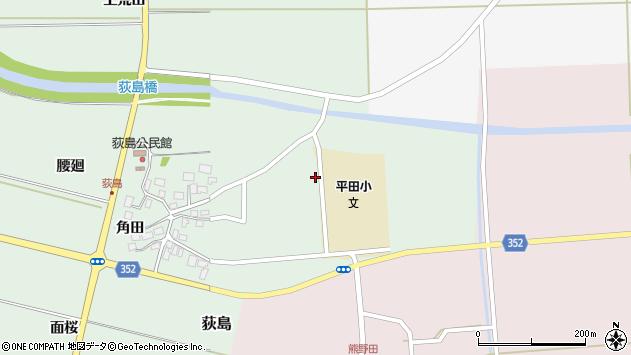 山形県酒田市荻島面桜10周辺の地図