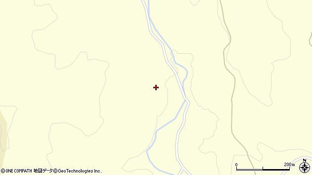 山形県酒田市北俣西山周辺の地図