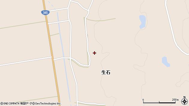 山形県酒田市生石十二ノ木113周辺の地図