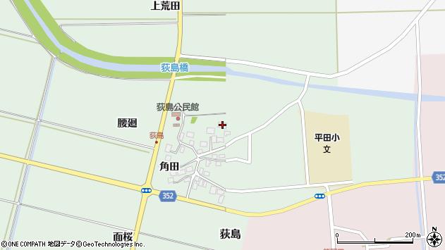 山形県酒田市荻島腰廻25周辺の地図