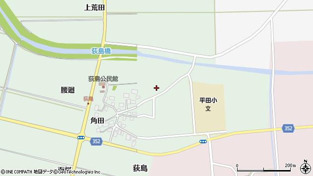 山形県酒田市荻島上荒田51周辺の地図