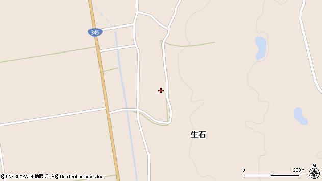 山形県酒田市生石十二ノ木139周辺の地図
