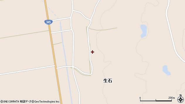山形県酒田市生石十二ノ木143周辺の地図