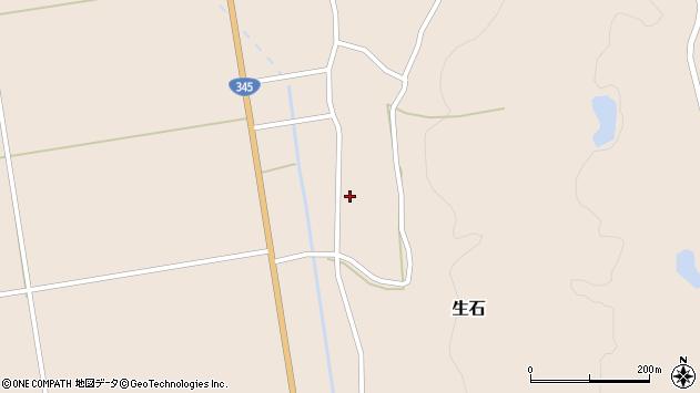山形県酒田市生石十二ノ木150周辺の地図