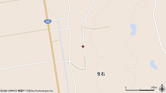 山形県酒田市生石十二ノ木144周辺の地図