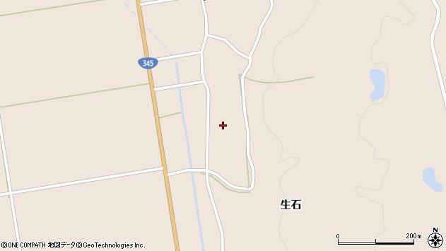 山形県酒田市生石十二ノ木147周辺の地図