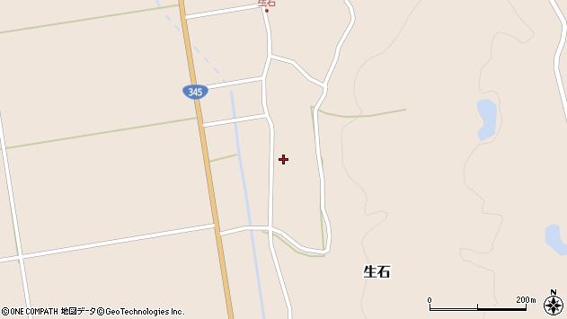 山形県酒田市生石十二ノ木151周辺の地図