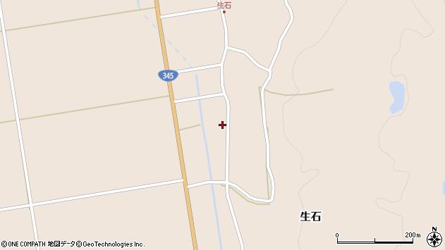 山形県酒田市生石登路田138周辺の地図