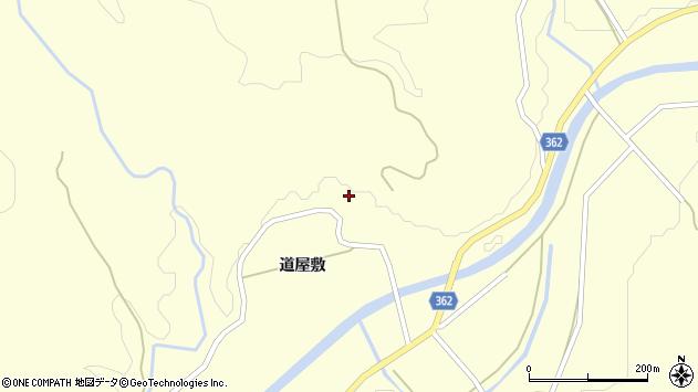 山形県酒田市北俣道屋敷34周辺の地図