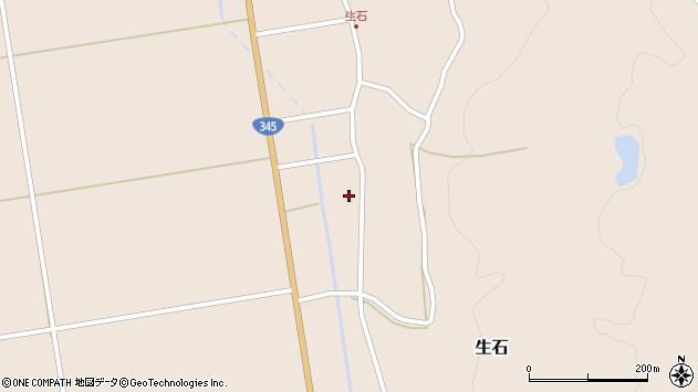 山形県酒田市生石十二ノ木226周辺の地図