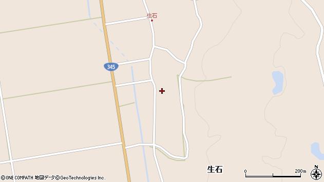 山形県酒田市生石十二ノ木168周辺の地図
