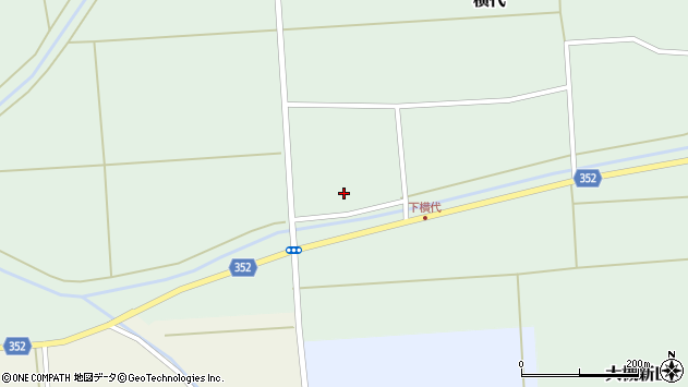 山形県酒田市横代千代桜187周辺の地図