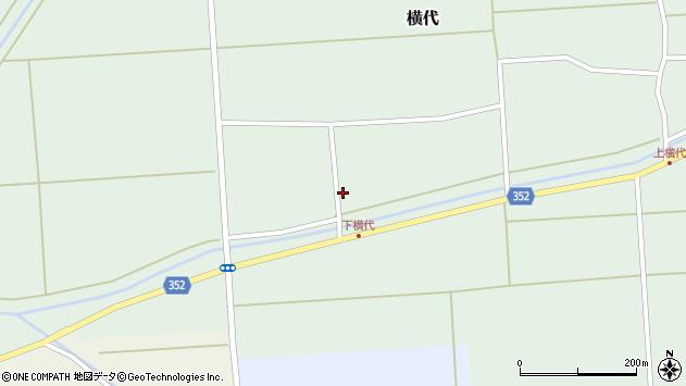 山形県酒田市横代千代桜195周辺の地図