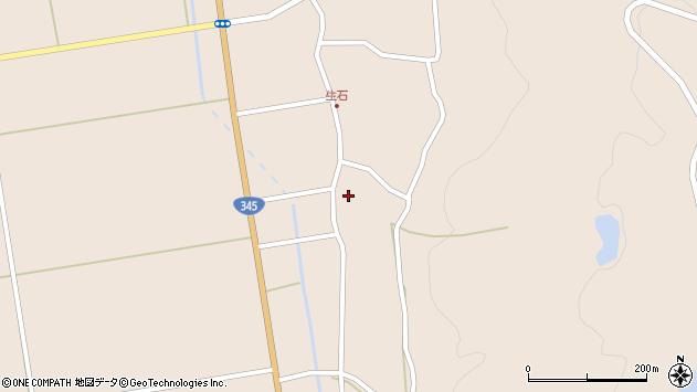 山形県酒田市生石十二ノ木216周辺の地図