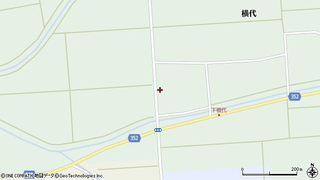 山形県酒田市横代千代桜171周辺の地図