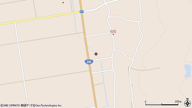 山形県酒田市生石登路田71周辺の地図
