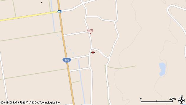 山形県酒田市生石十二ノ木196周辺の地図