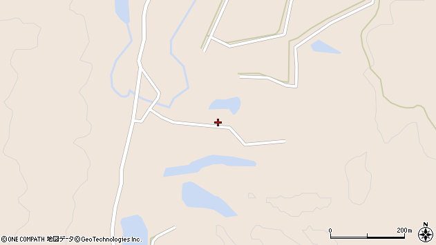 山形県酒田市生石柳沢174周辺の地図