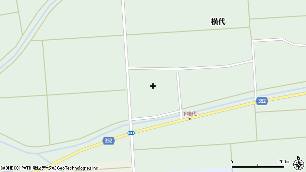 山形県酒田市横代千代桜183周辺の地図