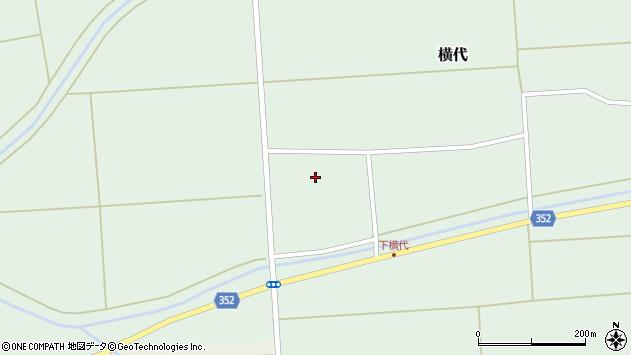 山形県酒田市横代千代桜175周辺の地図