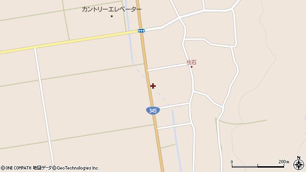 山形県酒田市生石登路田50周辺の地図