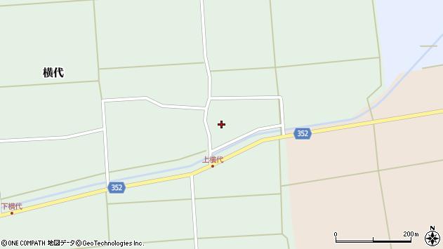 山形県酒田市横代千代桜5周辺の地図