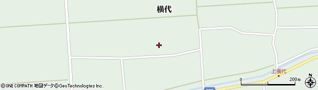 山形県酒田市横代千代桜206周辺の地図