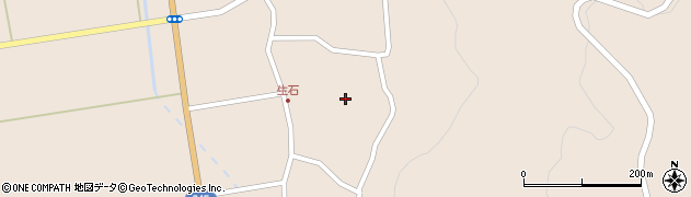 山形県酒田市生石奥山155周辺の地図