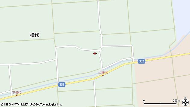 山形県酒田市横代千代桜55周辺の地図